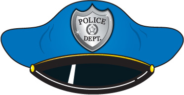 Free clipart of policeman hat