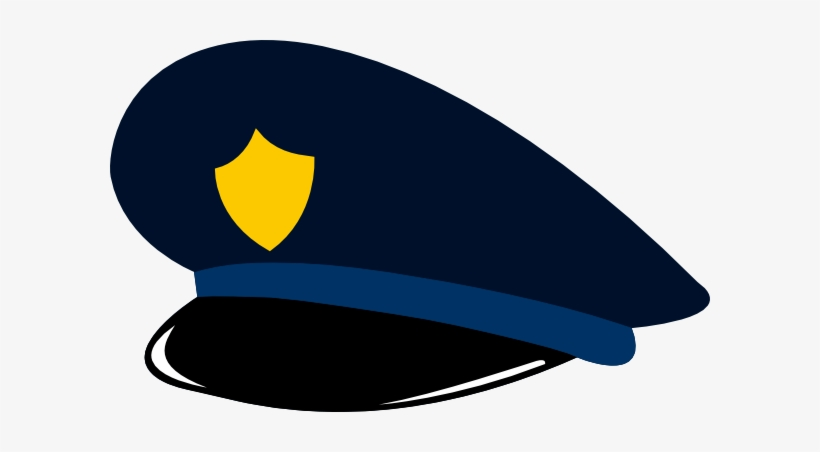 Police officer hat clipart graphic free library Police Hat Clip Art At Clker Com Vector Clip Art Online - Police Hat ... graphic free library