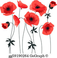 Free clipart of poppies. Poppy clip art royalty