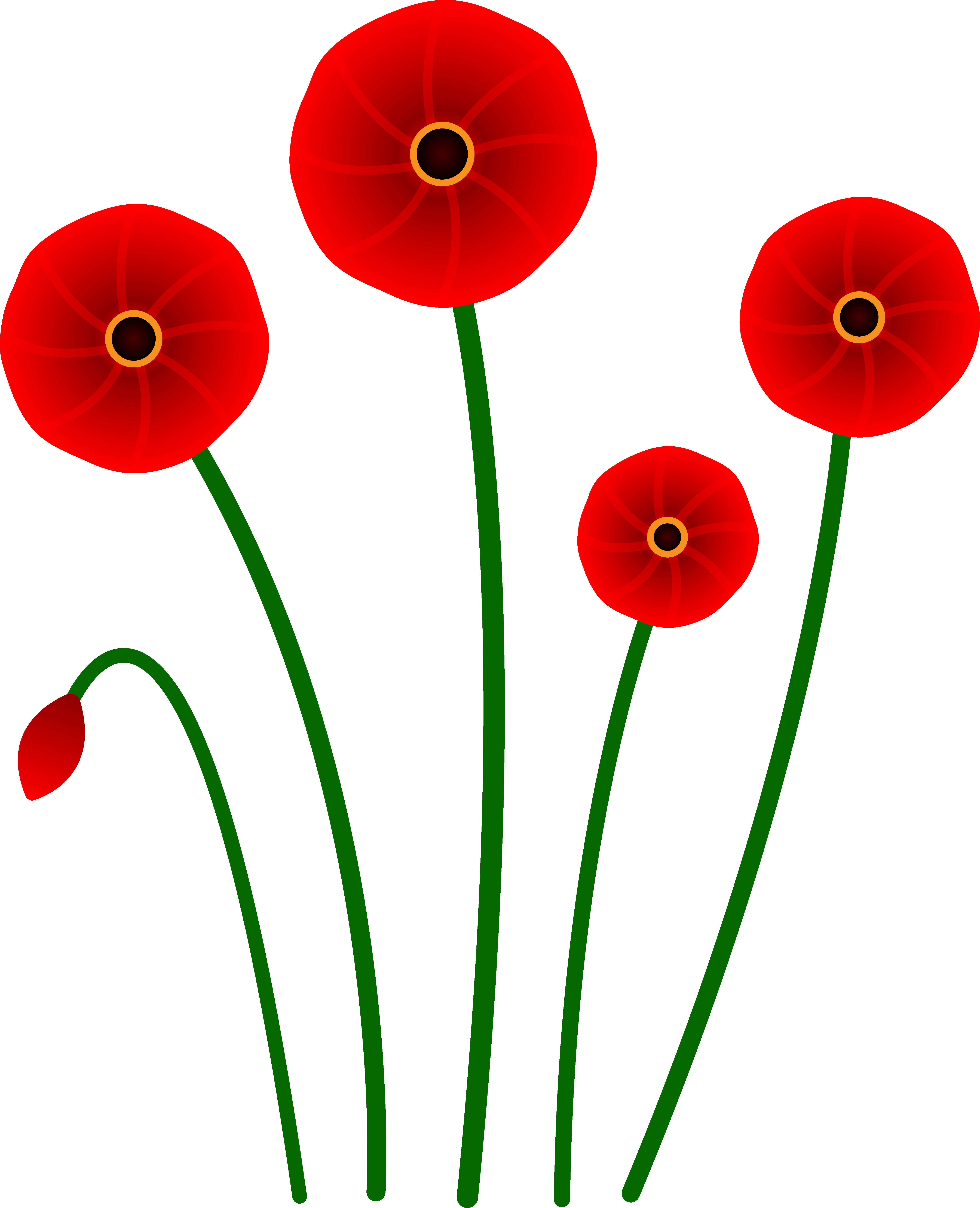 Free poppy flower clipart banner black and white stock Free Poppy Cliparts, Download Free Clip Art, Free Clip Art on ... banner black and white stock