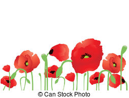 Clip art and stock. Free clipart of poppies