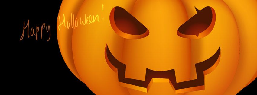 Free clipart of pumpkins for facebook cover photo jpg transparent 20 Scary Happy Halloween 2014 Facebook Cover Photos jpg transparent