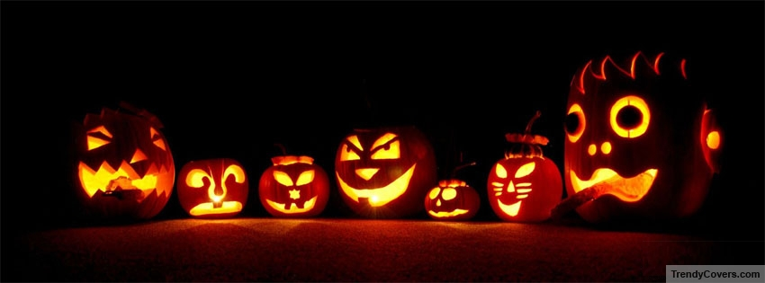 Free clipart of pumpkins for facebook cover photo banner freeuse stock Halloween Facebook Covers For Timeline - TrendyCovers.com banner freeuse stock
