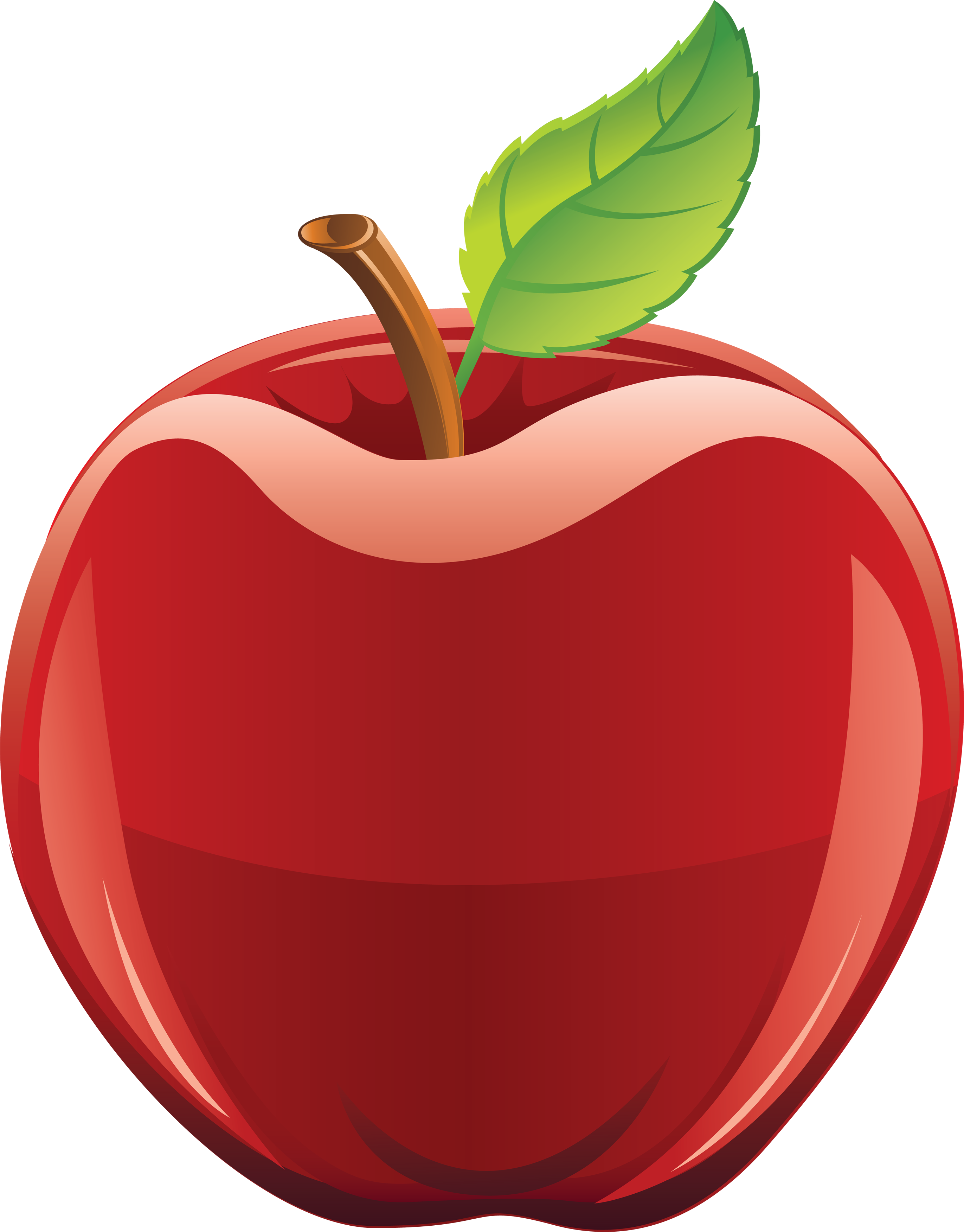 Free clipart of red apple clip art royalty free stock Apple Clip art - 3d cartoon silhouettes picture food,Hand-painted ... clip art royalty free stock