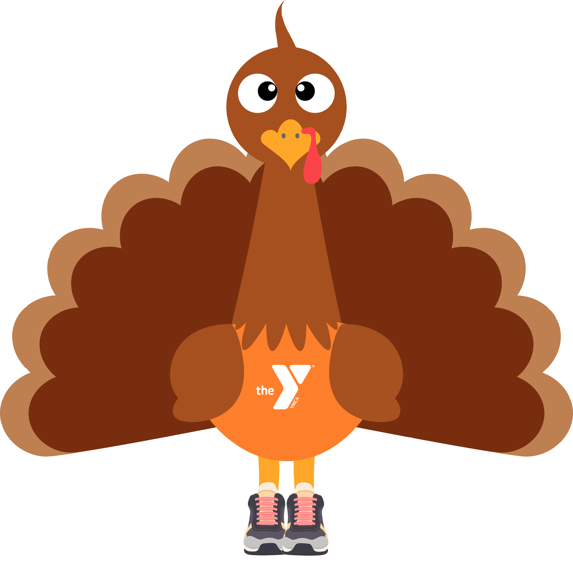 Thanksgiving turkey fitness clipart jpg royalty free download Turkey Trot 5K - Penobscot Bay YMCA jpg royalty free download