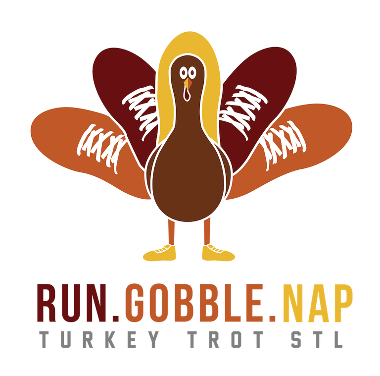 Thanksgiving turkey fitness clipart clip freeuse Turkey Trot - Downtown STL clip freeuse