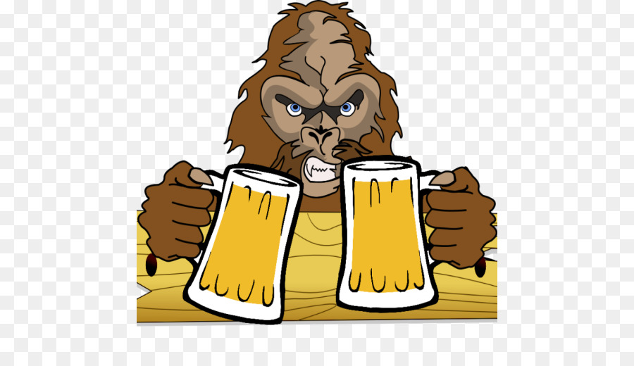 Free clipart of sasquatch drinking a beer svg royalty free library Brewing Cartoon svg royalty free library