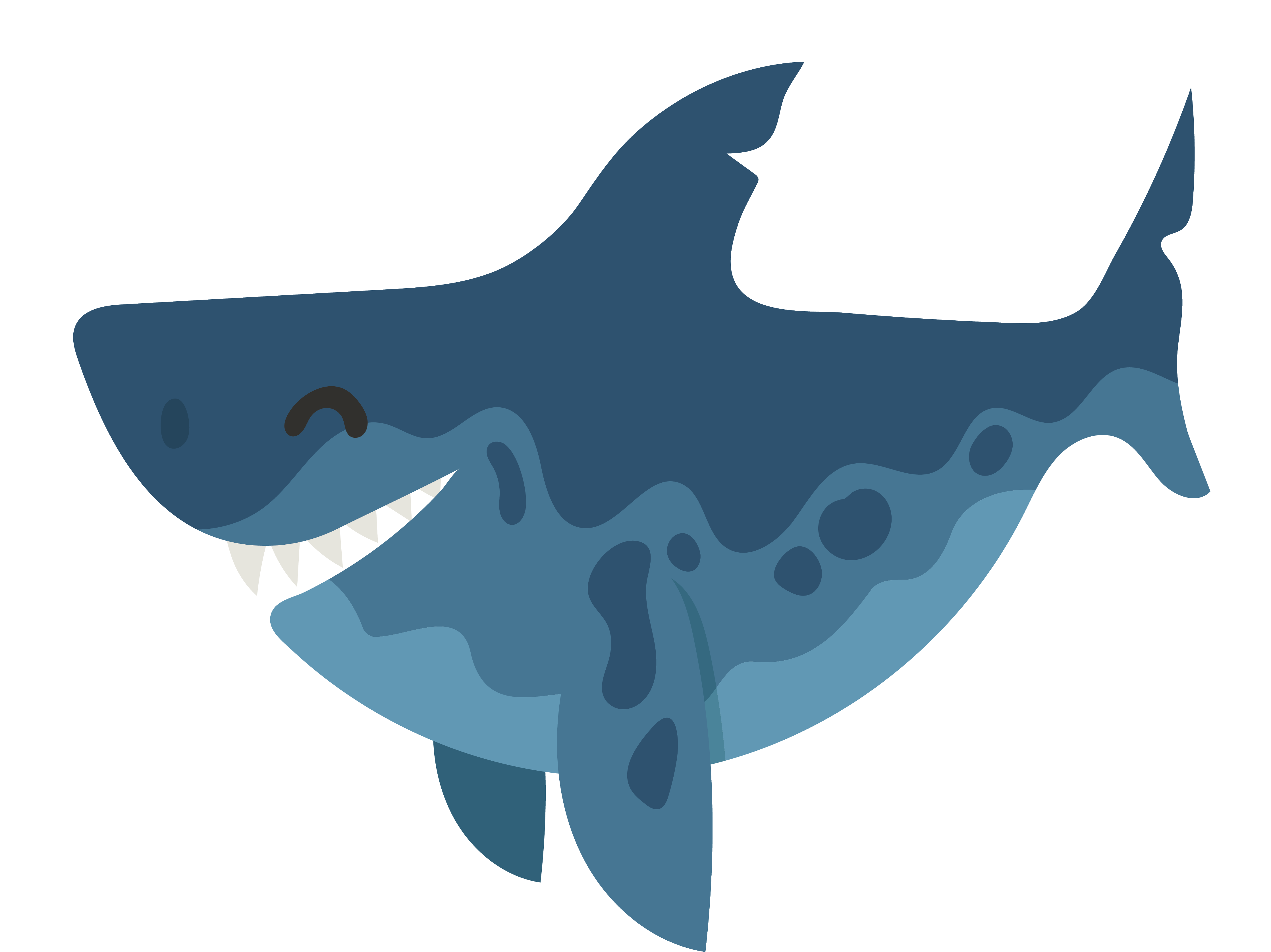 Free clipart of shark eyes and teeth png library stock Shark Fang - The shark teeth png download - 4472*3349 - Free ... png library stock