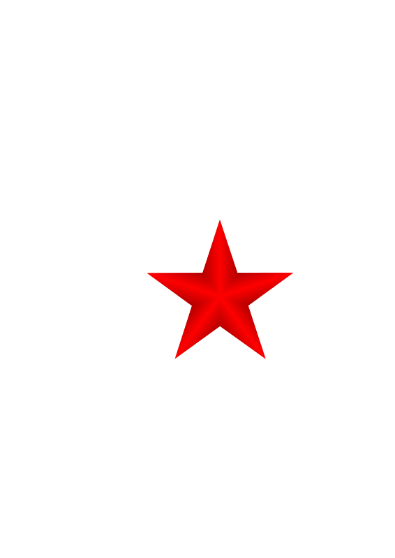 Free clipart of small star clip freeuse library Free Clipart: Red Star | f_featherbrain clip freeuse library
