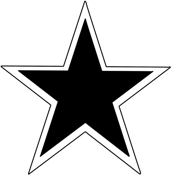 Free clipart of small star png transparent Free Small Star Outline, Download Free Clip Art, Free Clip Art on ... png transparent