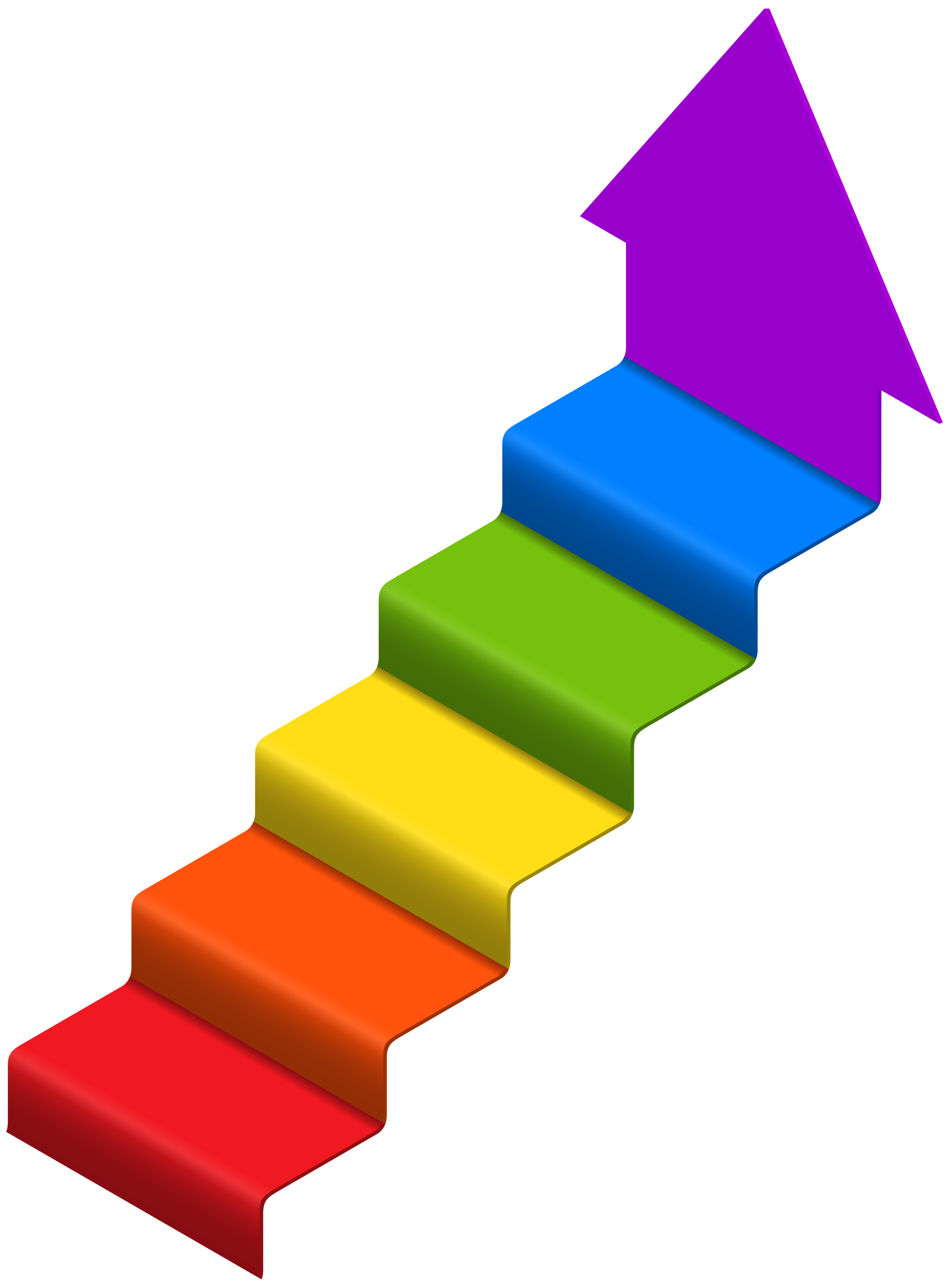 Arrow png clip art. Free clipart of stairs