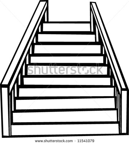 Free clipart of stairs. Stair download best on