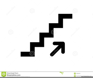 Black and white images. Free clipart of stairs