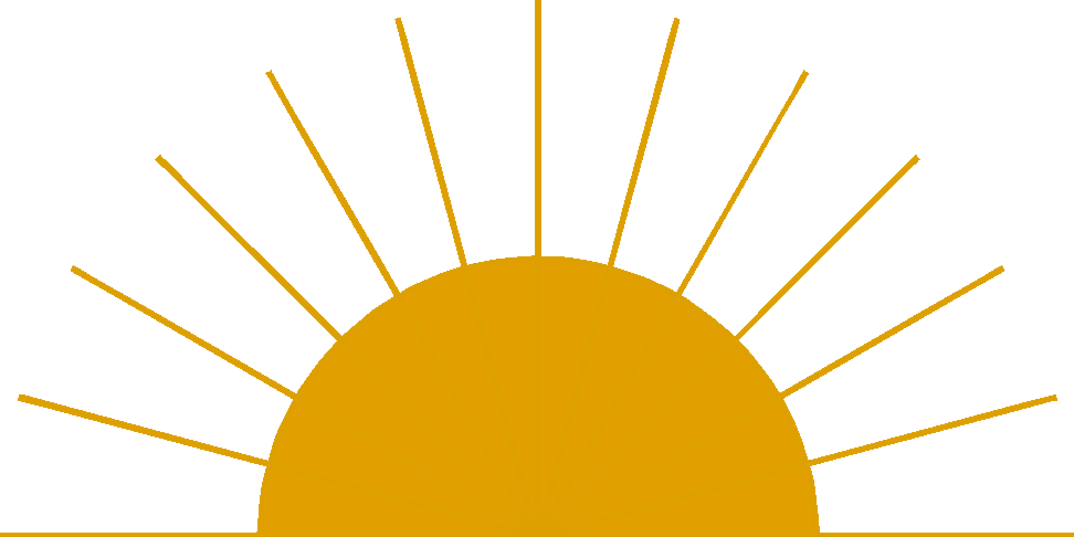 Free clipart of sun rise
