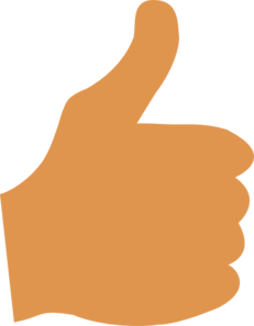 Free clipart of thumbs up picture black and white Thumb Clipart & Thumb Clip Art Images - ClipartALL.com picture black and white