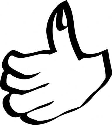 Free clipart of thumbs up library Free clip art thumbs up clipart - dbclipart.com library