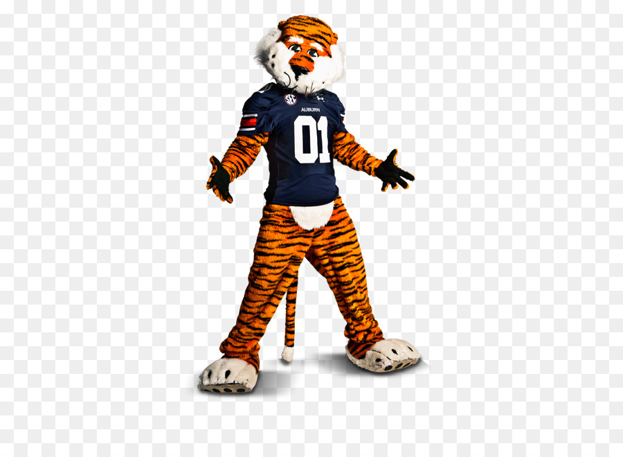 Cartoon png download transparent. Free clipart of tiger auburn university
