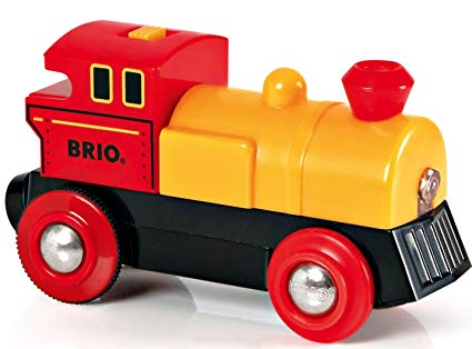 Free clipart of train cars going backwards down a hill graphic freeuse library BRIO World - 33594 Two-Way Battery-Operated Engine | Train Toy for Kids  Ages 3 and Up graphic freeuse library
