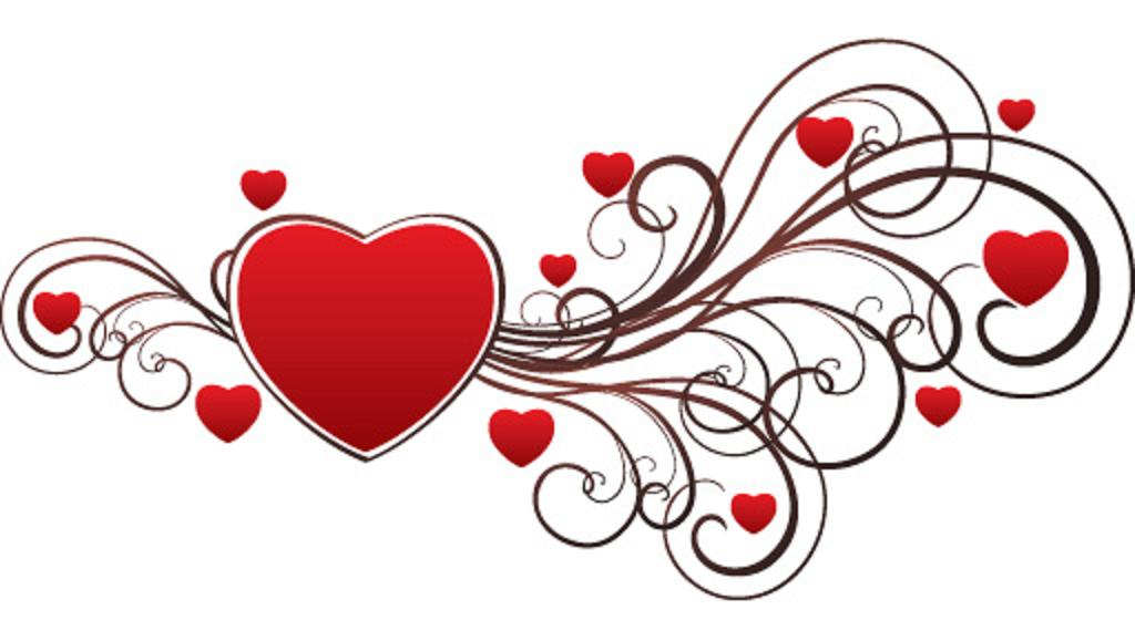 Valentine hearts free clipart picture freeuse library Free Valentine Day Heart Images, Download Free Clip Art, Free Clip ... picture freeuse library