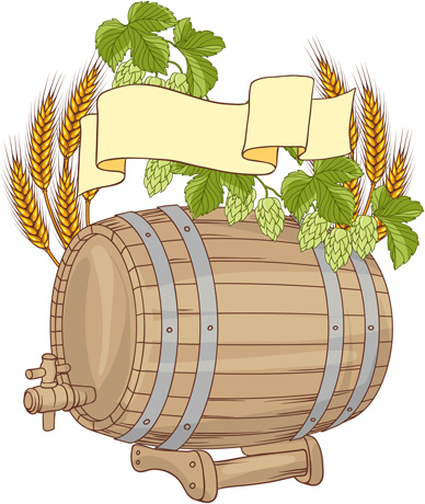 Free clipart of wine barrel png freeuse library Wine barrels vector Free vector in Encapsulated PostScript eps ... png freeuse library