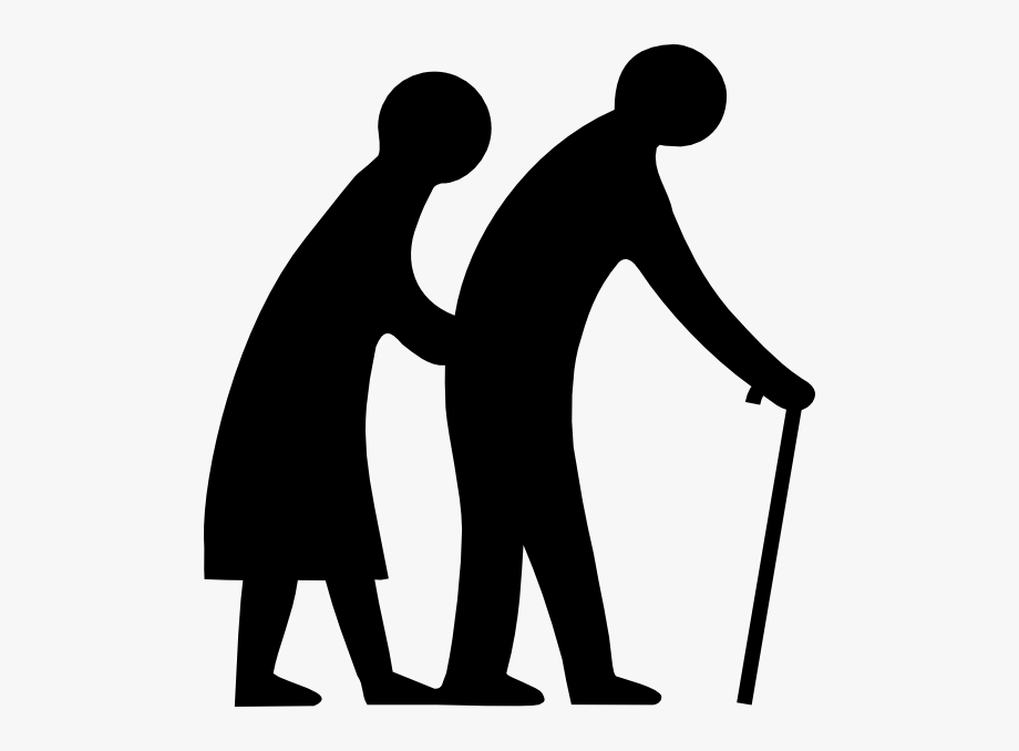 Free clipart old people image black and white Elder Care Clipart - Old People Clip Art #48578 - Free Cliparts on ... image black and white