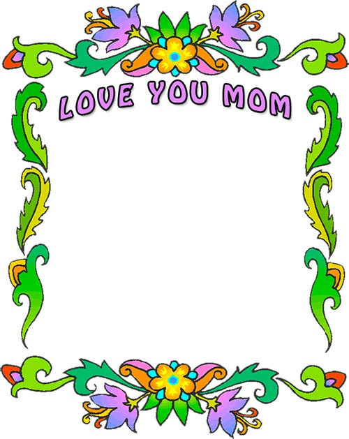 Mother-s day borders clipart