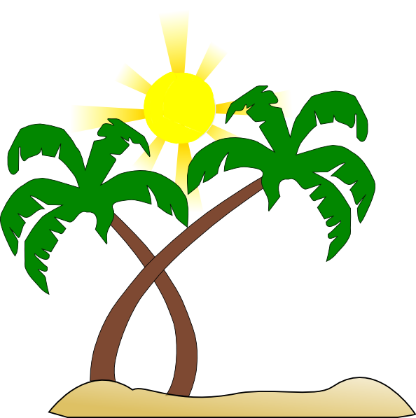 Free clipart palm tree picture freeuse library Palm Tree Clipart pohon kelapa - Free Clipart on Dumielauxepices.net picture freeuse library