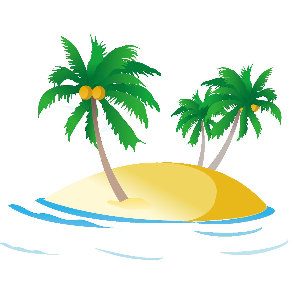 Free clipart palm tree beach clip art free stock Sea Ocean Royalty-free Clip art - Beach coconut tree 1181*1181 ... clip art free stock