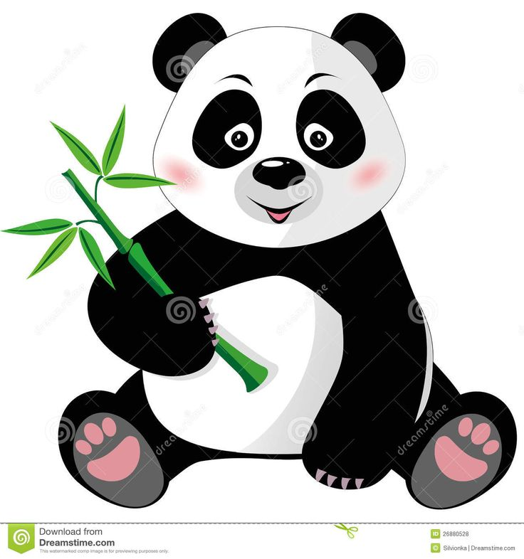 Free clipart panda bear clip art black and white library 59+ Panda Bear Clipart | ClipartLook clip art black and white library