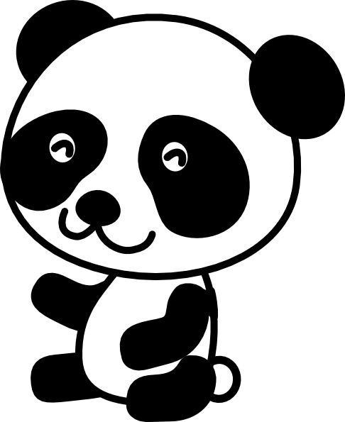 Download clip art on. Free clipart panda bear