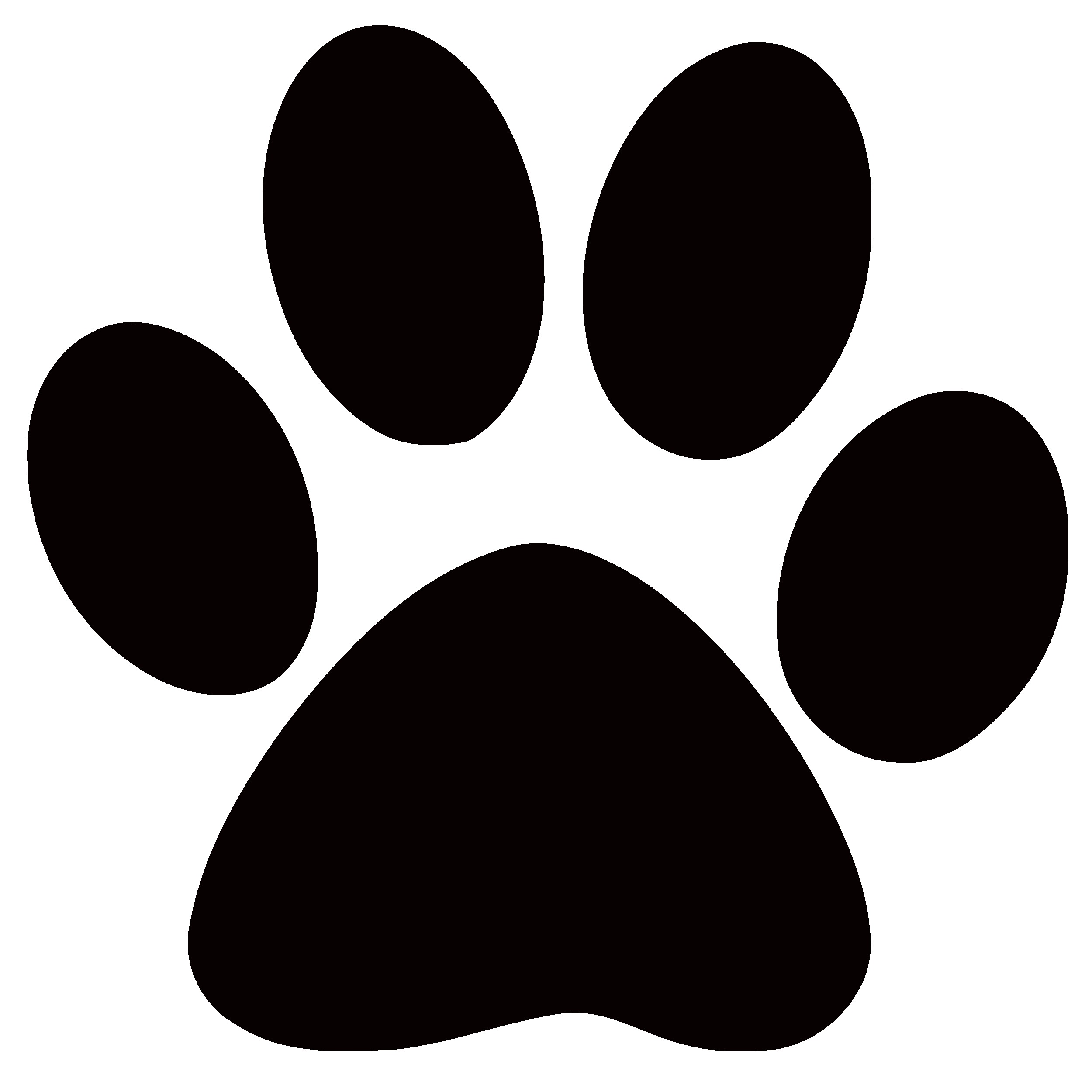 Salaharness org . Free clipart panther paw