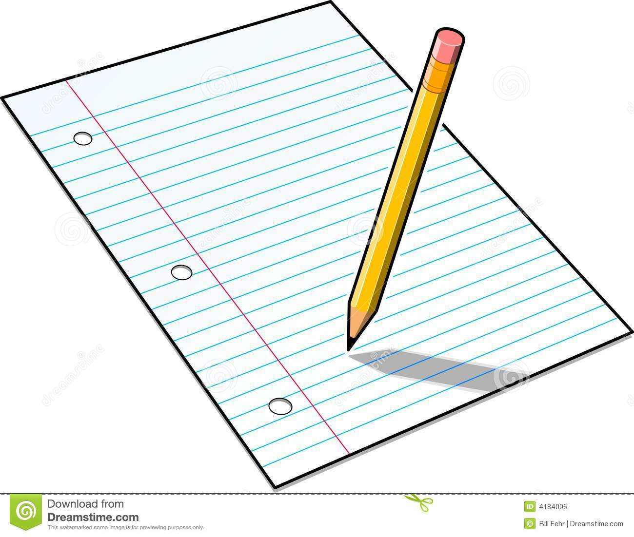 Free clipart paper and pencils. Pictures of pencil download