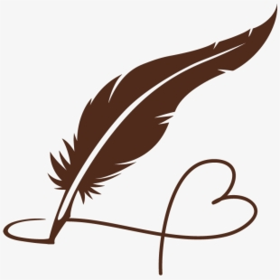 Free clipart pen and inkwell. Feathers ink quill