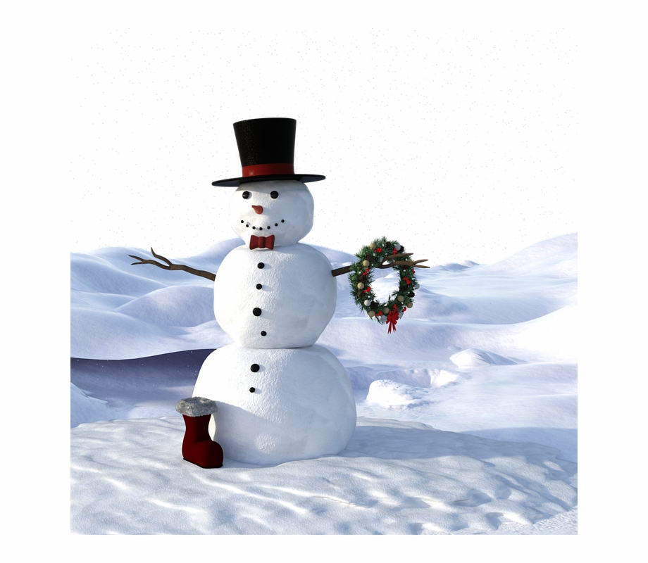 Free clipart people covered with snow banner free stock Snow Man, Winter, Wintry, Christmas, Cold, Snow, Slide - Muñecos De ... banner free stock