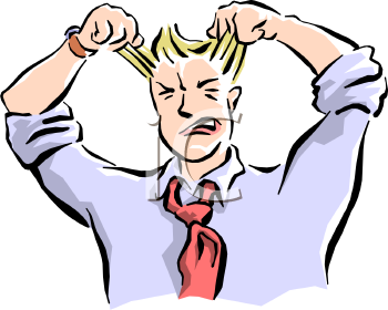 Free clipart person pulling their hair out svg freeuse library Pulling Hair Out Cartoon Group with 16+ items svg freeuse library