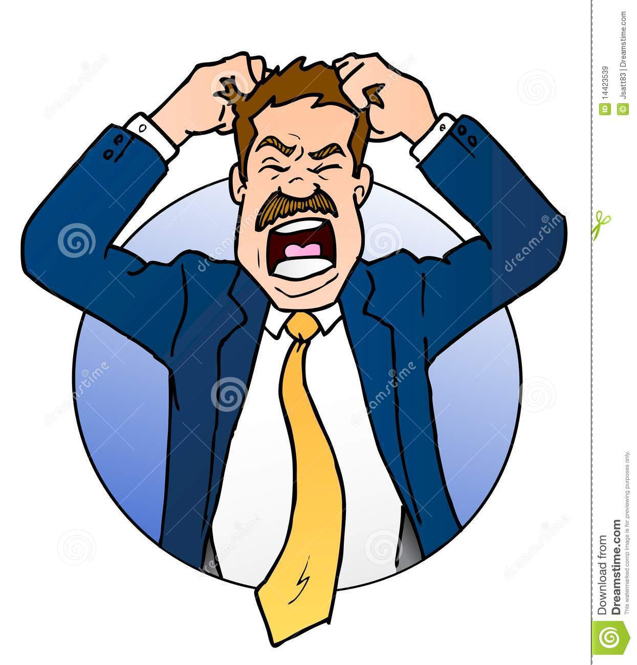 Free clipart person pulling their hair out jpg transparent download Cartoon Pulling Hair Out Group with 75+ items jpg transparent download