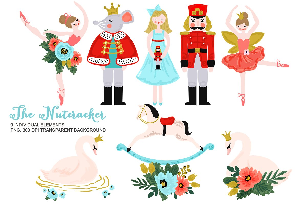 Library of nutcracker banner royalty free download png ...