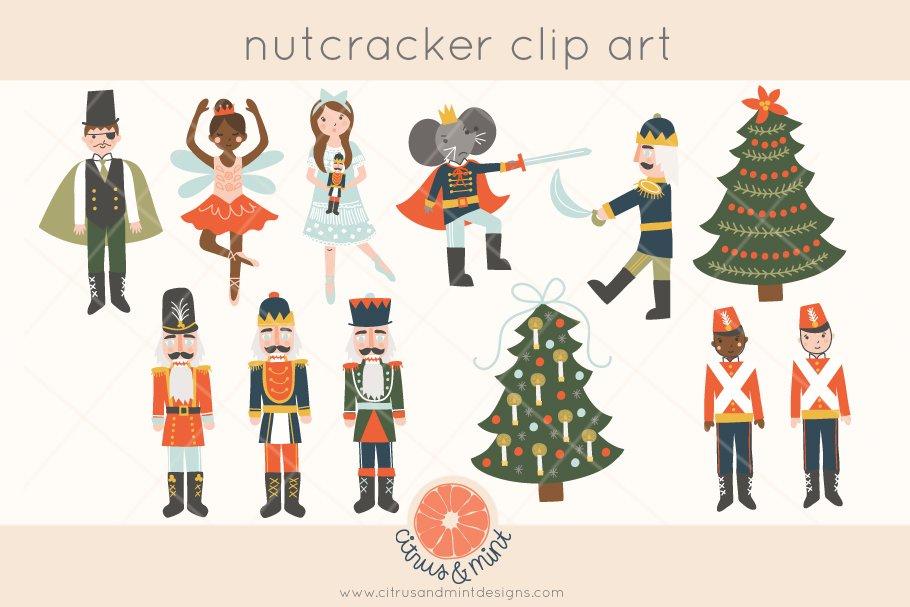 Free clipart photos of the nutcracker ballet clipart black and white download nutcracker ballet clip art clipart black and white download