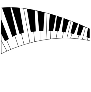Free clipart piano keyboard png transparent background clip art black and white download Free clipart piano keyboard - ClipartFest clip art black and white download