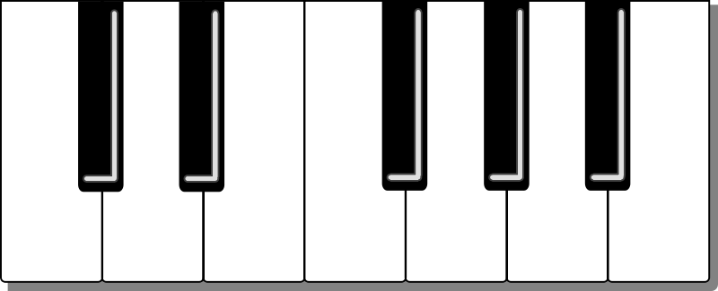Free clipart piano keyboard png transparent background png royalty free download Pictures Of A Keyboard | Free Download Clip Art | Free Clip Art ... png royalty free download