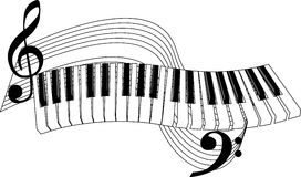 Free clipart piano keys.  clipartlook