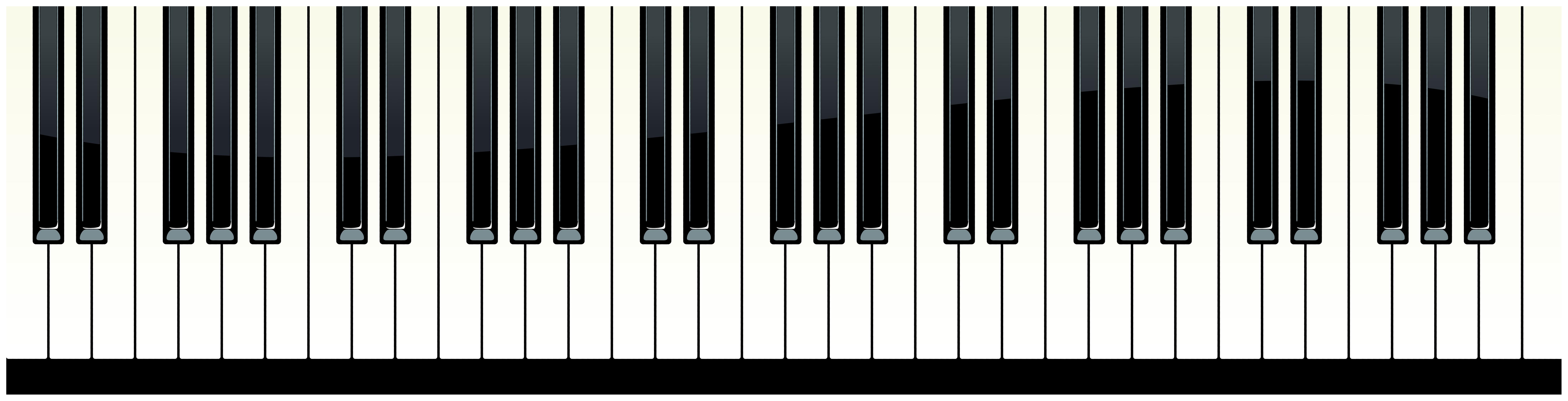 Free clipart piano keys. Png clip art image