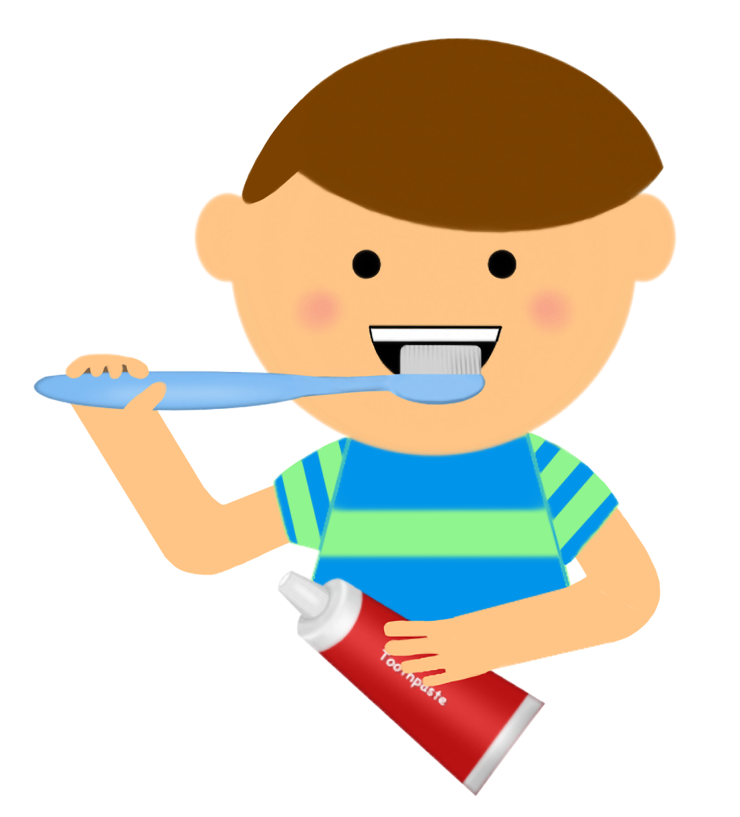 Girl teeth download best. Free clipart pics of little boy brushing hair