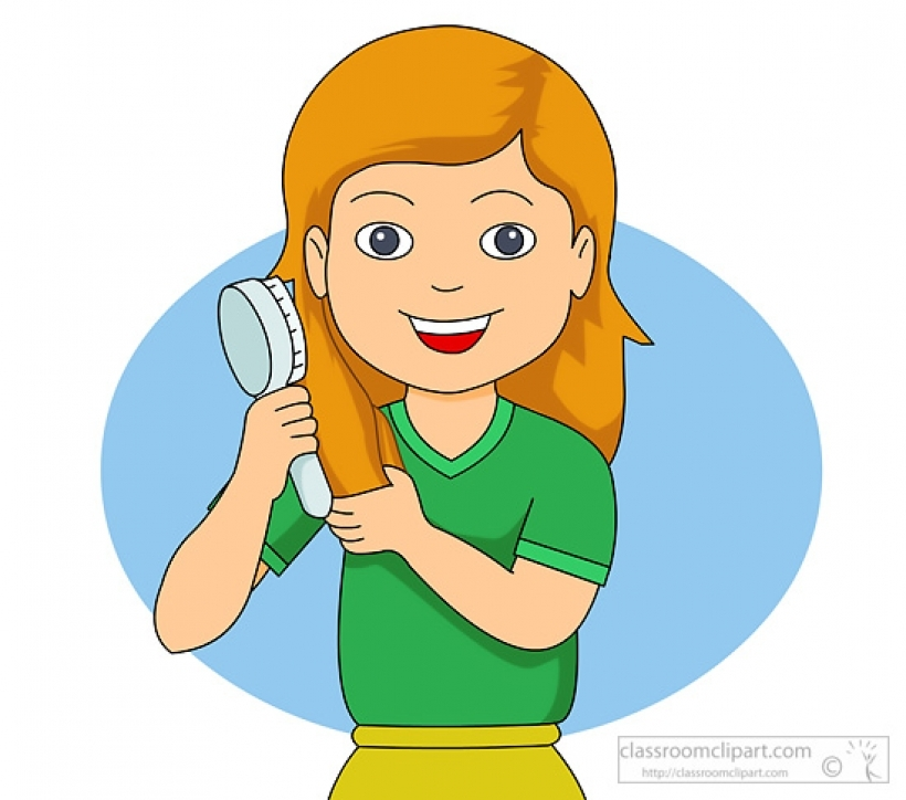 Collection combing download best. Free clipart pics of little boy brushing hair