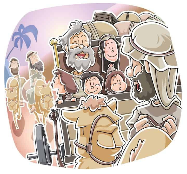 Free clipart picture laban chases jacob for treasures. Runs from genesis sunday