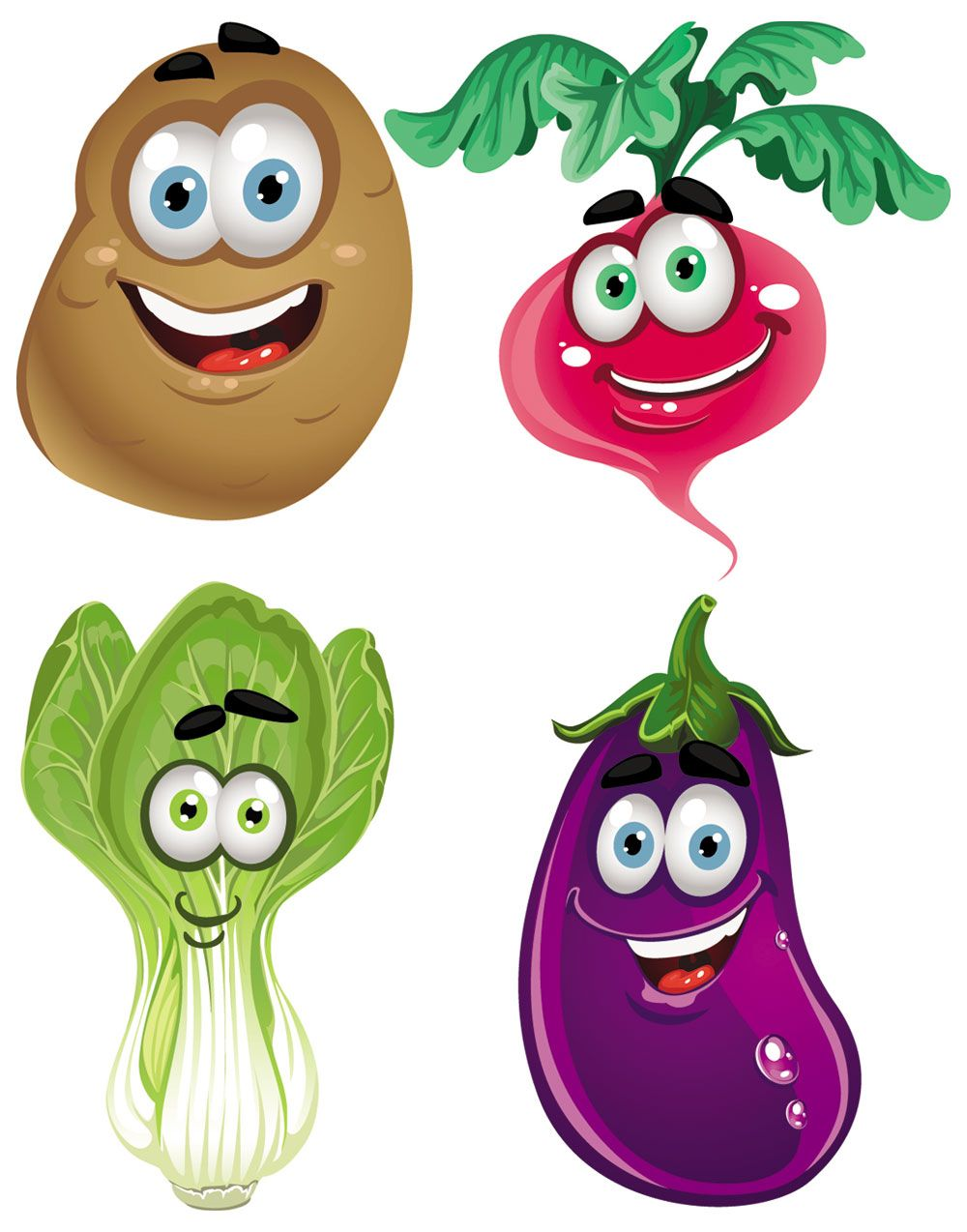 Free clipart pictures of fruits and vegetables. Fresh clip art cartoon