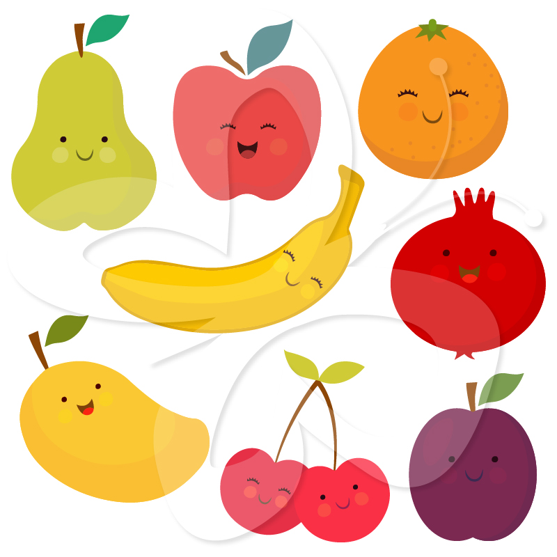 Fruit vegetable panda images. Free clipart pictures of fruits and vegetables