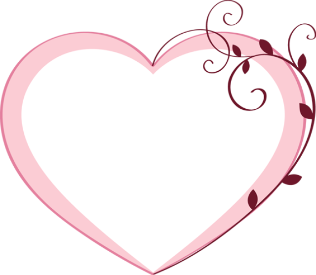 Free clipart pink heart clipart transparent stock 20 Free Clip Art Designs for Valentine's Day: Clip Art of a Pink ... clipart transparent stock