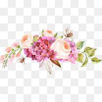 Flowers clipart transparent background banner free stock 176 Best transparent floral images images in 2018 | Vintage floral ... banner free stock