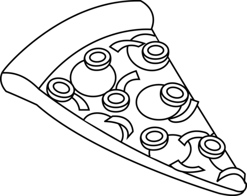 Free clipart pizza black and white svg transparent download Pizza Black And White Clipart Activity 15 - Clipart1001 - Free Cliparts svg transparent download